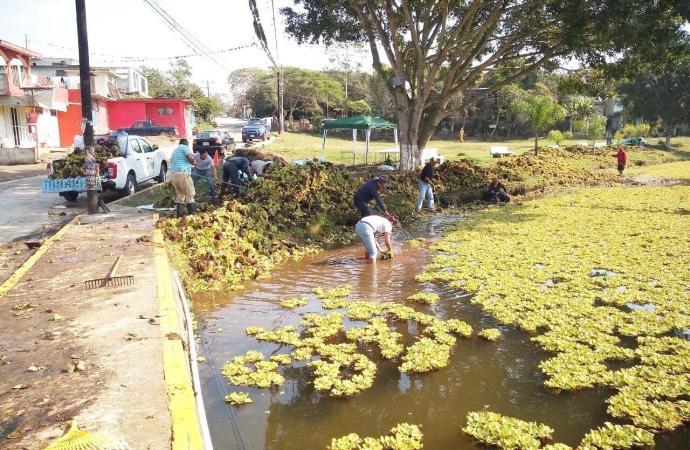 Desasolve de Laguna chiqueña