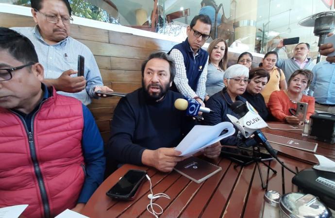Integrantes del SNTE presentaron denuncias en contra del gobernador por las agresiones que recibieron
