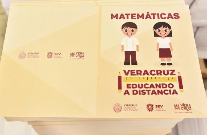 Con libros de texto gratuitos, clases televisadas y plataformas digitales, reanuda SEV el Ciclo Escolar