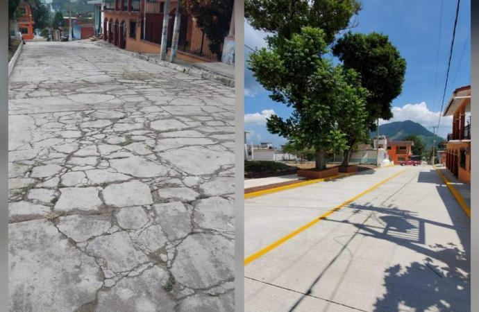 Dignifica alcaldesa imagen urbana en Laguna de Farfán