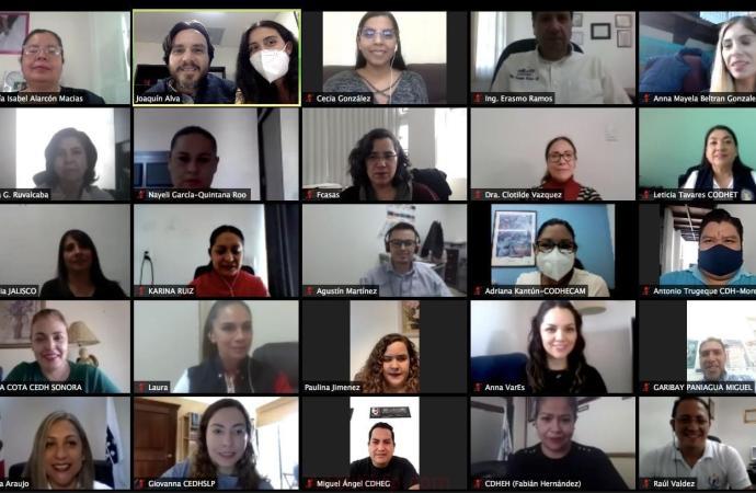 Participa CEDH en Encuentro Nacional de Mecanismos de Monitoreo