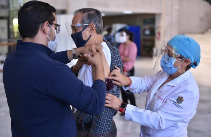 Inicia Congreso campaña de vacunación contra la influenza a su personal