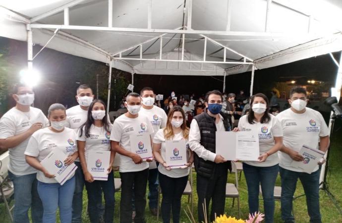 La juventud de Jilotepec se suma a los ideales de UC