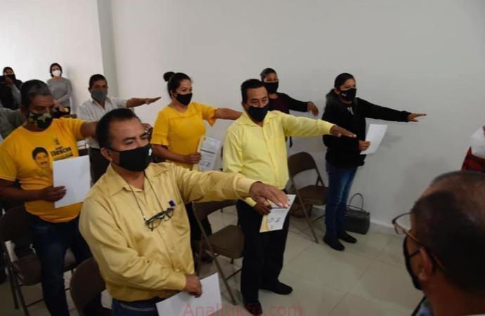 Alcanza PRD 75 por ciento de Direcciones Municipales instaladas en Veracruz