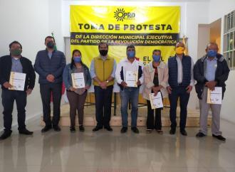 Principal alianza del PRD será con la sociedad: Peña González