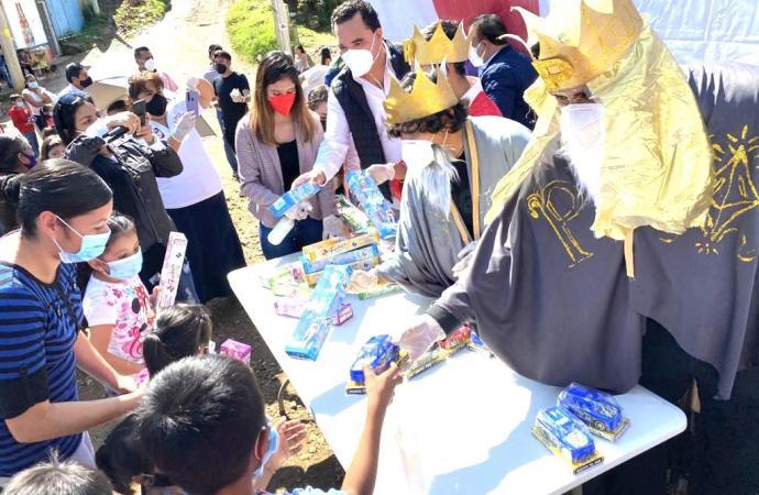 Reyes Magos en Colonia Comercio de Xalapa: RSP