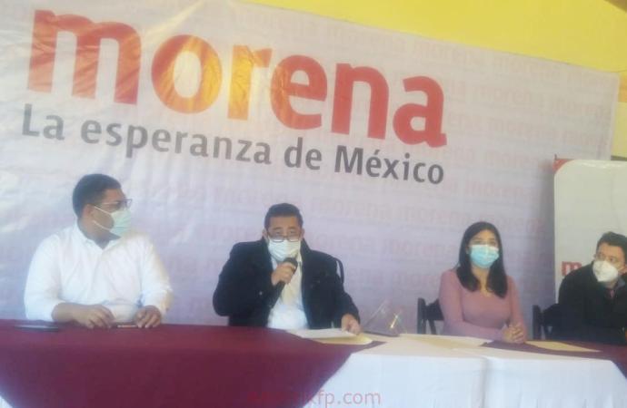 """Apuntalan miembros  integrantes del Comité Estatal de MORENA la alianza """"Juntos hacemos historia"""""""