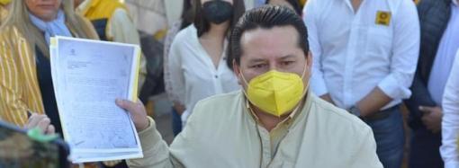Aspirantes perredistas amenazados y exige detener obra en Ágora: Sergio Cadena