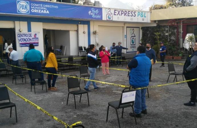 Jornada electoral interna del PAN en Veracruz