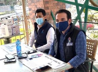 Unidad Ciudadana sigue sanitizando gratis