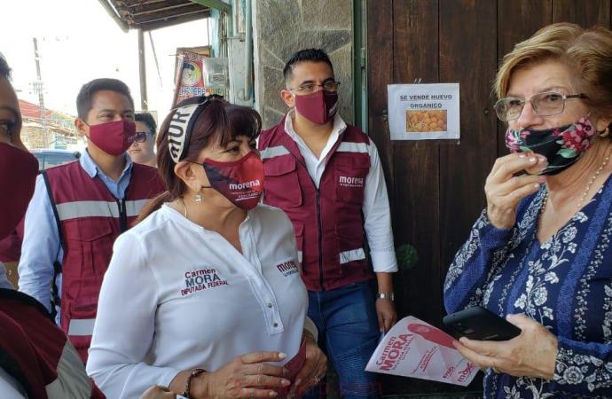 Las mujeres estamos listas para transformar a México: Carmen Mora