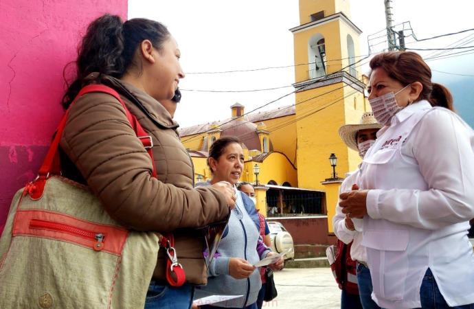 MORENA es ejemplo de honestidad, trabajo y resultados: Carmen Mora