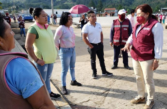 Los productores del campo son sembradores de bienestar: Carmen Mora