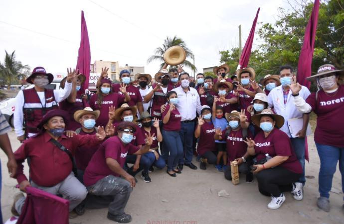 Ofrece Amado Cruz un Gobierno en diálogo abierto con la ciudadanía