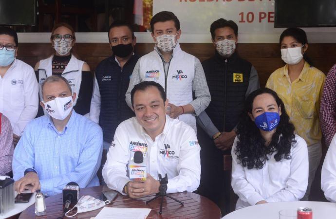 Legislaré obedeciendo las demandas de los xalapeños: Américo Zúñiga