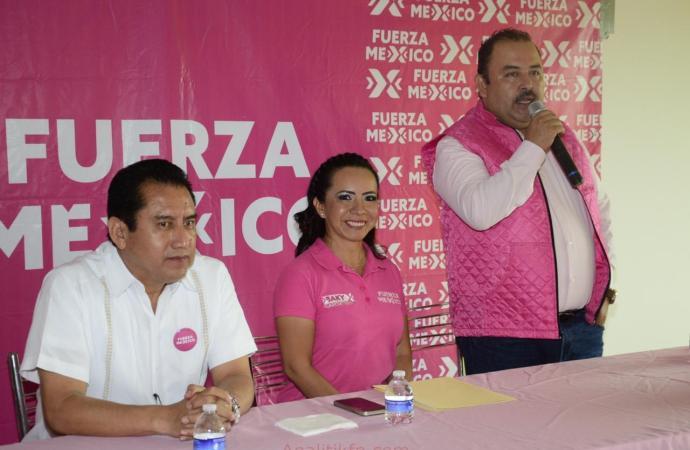 Enrique Santos será el portavoz en el Congreso del Estado Veracruz de Fuerza Por México