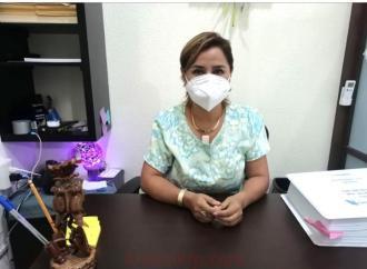 Realizan sanitización a centros escolares misantecos
