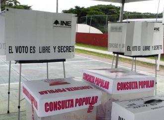 Siete personas impiden en Chavarrillo la instalación de Mesas Receptoras de la opinión ciudadana en esta consulta Pública