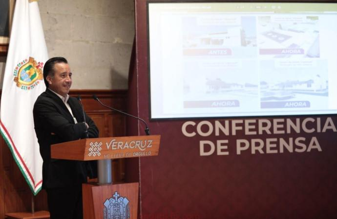 Responde Cuitláhuac García a voceros parlanchines, la Cuarta Transformación sí cumplir