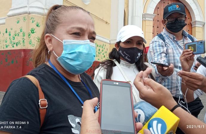 Colectivos de Búsqueda de desaparecidos se manifestaron para repudiar la imposición de personas sin perfil en la CEEAIV