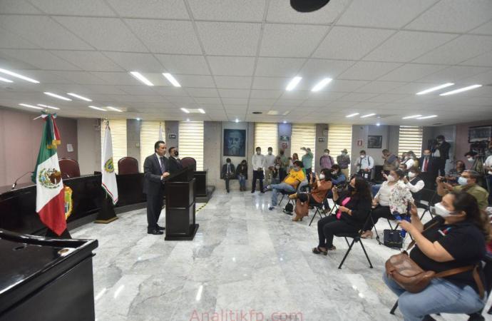 La actuación de la justicia no tiene por qué hacer excepción con los políticos: Cuitláhuac García