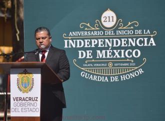 Decisiones públicas de autoridades, atentan contra la justicia y libertad, por las que nuestros héroes lucharon: Marlon Ramírez
