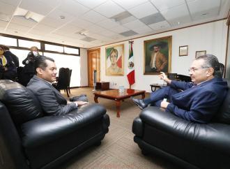 Reactivará Pemex el Complejo Cosoleacaque, le dice el Director de Pemex a Sergio Gutiérrez Luna