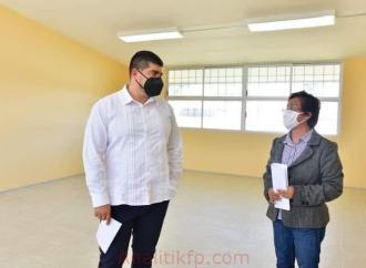 Anuncia la SEV concierto para rehabilitar planteles educativos