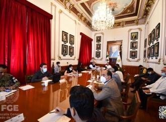 Mesa de Coordinación para la Construcción de la Paz en Palacio de Gobierno