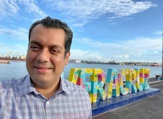 Presume Sergio Gutiérrez Luna su origen veracruzano
