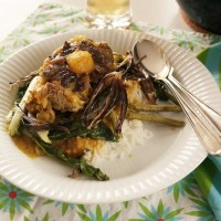 Kare kare, oxtail and peanut stew