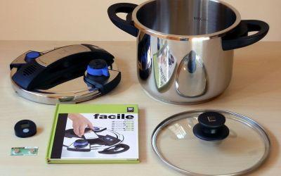 Bra Facile – Olla a presión rápida de 6 litros