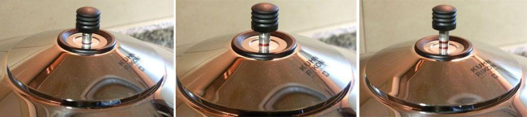 Kuhn Rikon Duromatic Inox indicador de presión