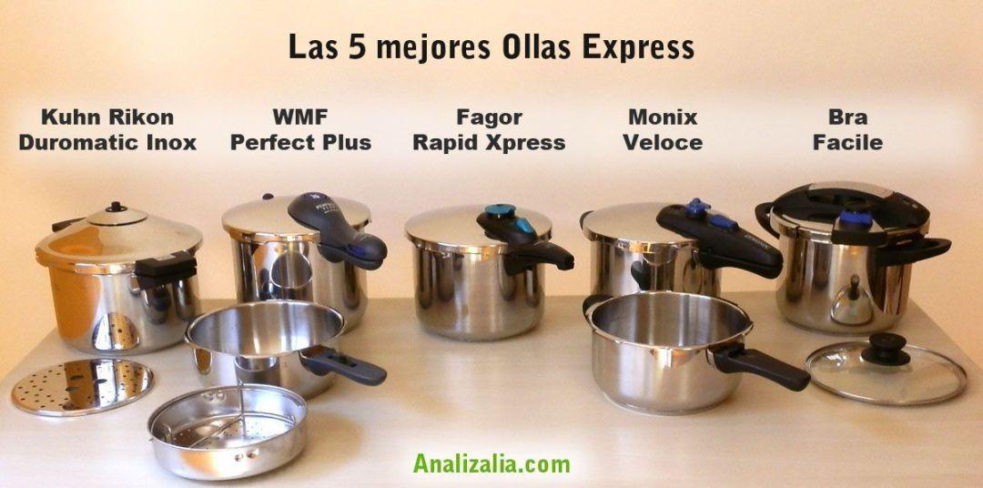 Las 5 mejores ollas express