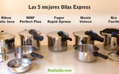 Las 5 mejores ollas express. Comparativas