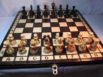 ChessEbook PEARL 34 - tablero Ajedrez de Madera