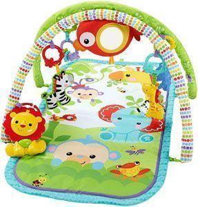 gimnasio bebe fisher price musical animalitos (Mattel CHP85)