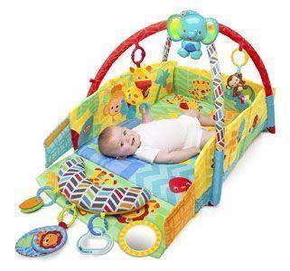 gimnasio bebe Bright Starts Sunny Safari