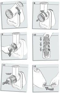 desmontaje moulinex