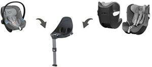 base m cybex sillas de coche