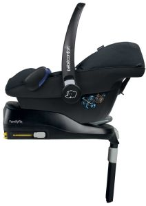 base isofix y silla pebble