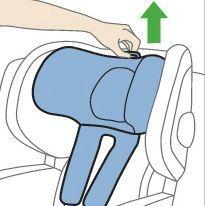 ajuste reposacabezas silla zero 1
