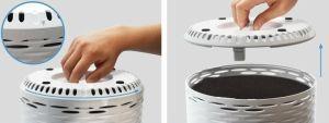 colocar filtros purificador Levoit