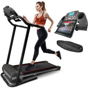 Sportstech Cinta Correr F10 controlable por Smartphone y Tablet