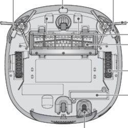 base del robot LG hombot