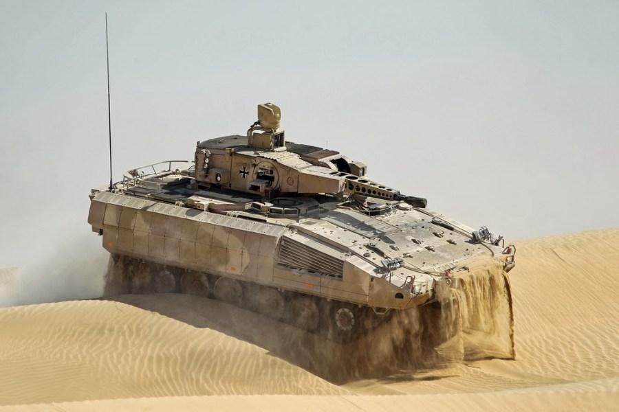 blindaje del VCI Puma
