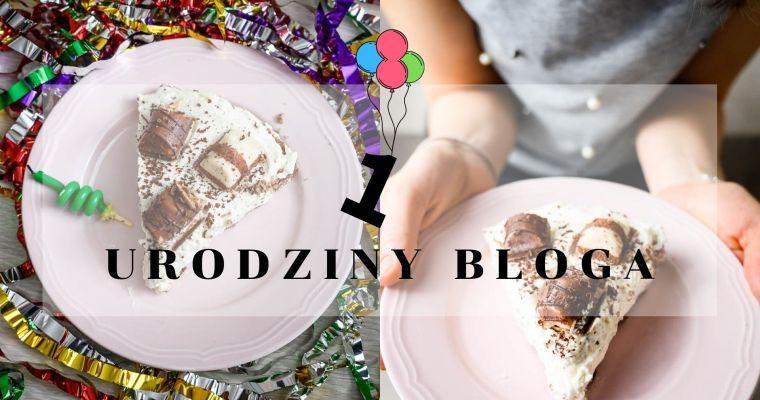 Pierwsze urodziny bloga i tarta kinder bueno