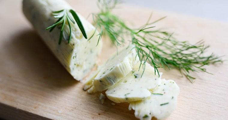 Masło czosnkowo-ziołowe