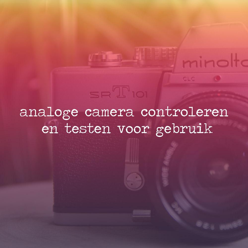 analoge camera testen, analoog, testen, analoge camera