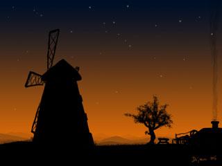 The village of sunset